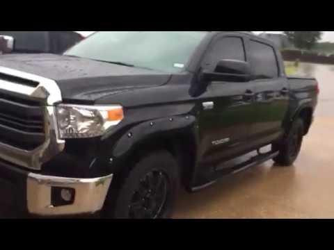 Gator Sr1 Tonneau Cover In Hurricane Harvey Weather Youtube