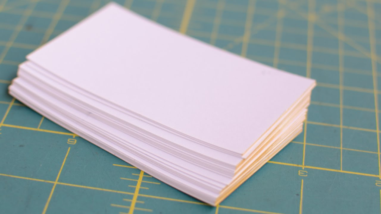 Make fancy edge painted business cards diy style guidecentral make fancy edge painted business cards diy style guidecentral youtube magicingreecefo Images