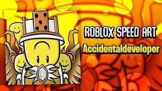 Roblox Speed Art | Accidentaldeveloper