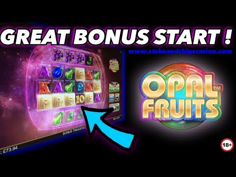 THIS HAPPENED ! OPAL FRUITS SLOT 🚨 Online Casino Bonus BIG WIN
