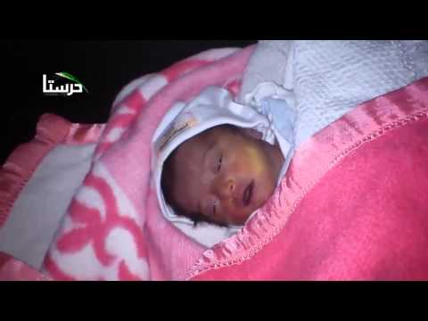 Syria|| Damascus||Infant died due to medical shortage 22-11-2013