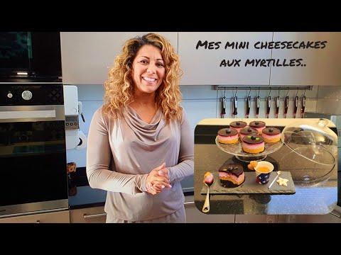 mes-mini-cheesecakes-aux-myrtilles-#cheesecake-#myrtille