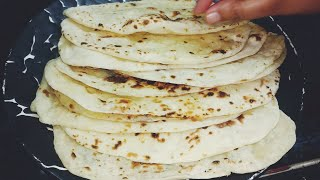 Naan Recipe - No Oven No Yeast | Naan without Tandoor - Naan on Tawa Indian Flat bread