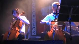 RockCellos - Wind of change (live 01. 05. 2016 Moscow)