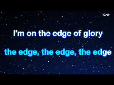 The Edge Of Glory - Lady Gaga  Karaoke【No Guide Melody】