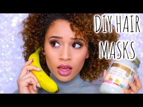Get Rid Of Frizzy Hair Diy Hair Masks Treatments