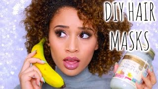Get Rid of Frizzy Hair! 4 DIY Hair Masks/Treatments