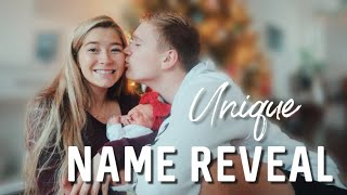 Download OFFICIAL BABY GIRL NAME REVEAL // The meaning behind her name Mp3 and Videos
