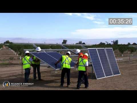 Ground Mount Solar Racking | Osprey PowerPlatform®