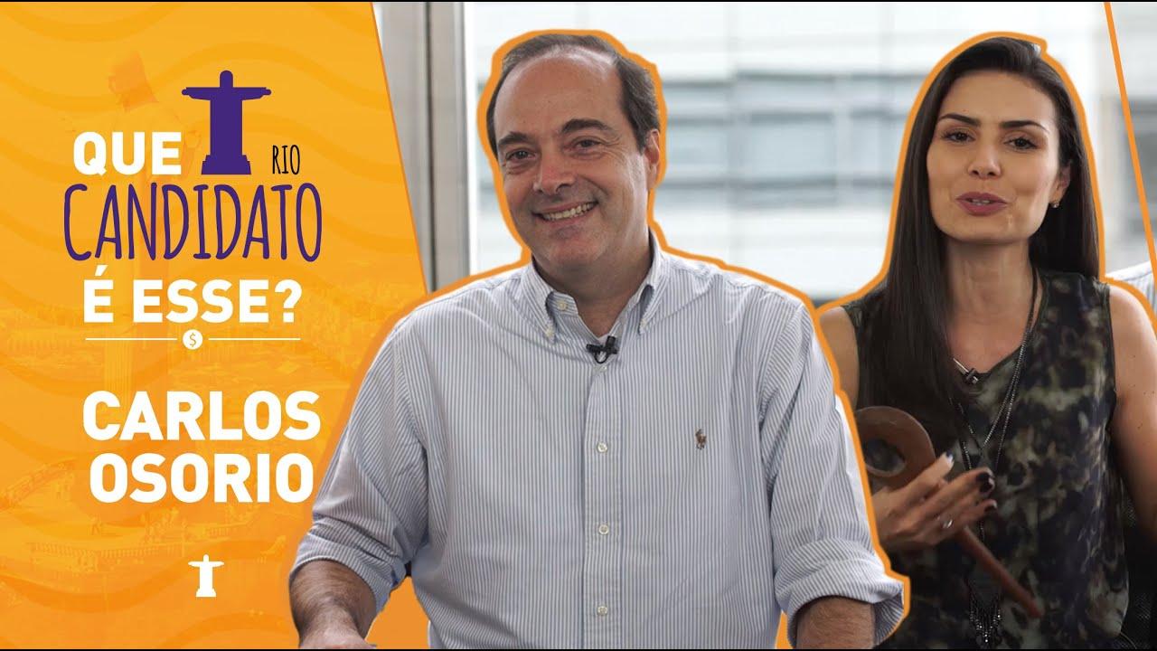 NATHALIA ARCURI - Entrevista: Carlos Osório - Que Candidato é esse?