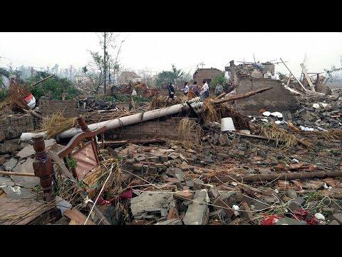 China storms: 98 killed, 800 injured due to heavy rains, tornado in Jiangsu | वनइंडिया हिन्दी