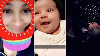 Blac Chyna | Snapchat Videos | December 28th 2016 | ft Dream Kardashian