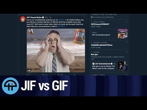 Jif vs GIF: Marketing Done Right