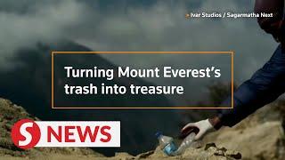 Turning Mt. Everest's trash into treasure
