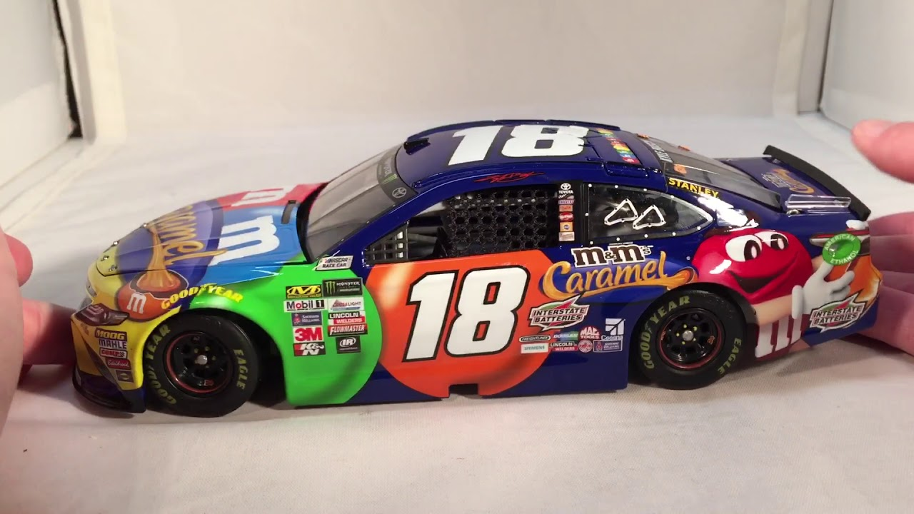 Review 2017 Kyle Busch 18 M Amp Ms Caramel Toyota 1 24