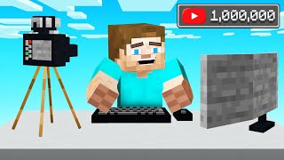 We Became YOUTUBERS In MINECRAFT!