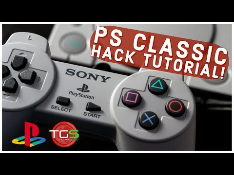 How to hack your PS Classic using Bleemsync! Full Tutorial