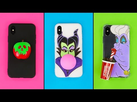 SIMPLE AND FUNNY PHONE CASES YOU CAN MAKE