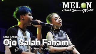 Download lagu OJO SALAH PAHAM - SYAHIBA SAUFA ft JAMES AP \\ MELON MUSIC LIVE KUMENDUNG SUMBERSEWU