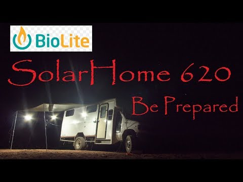 Biolite SolarHome 620 - Being Prepared