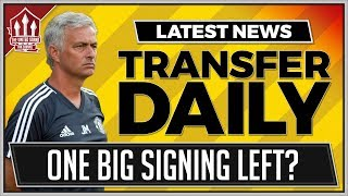Mourinho's One BIG Transfer? Manchester United Transfer News