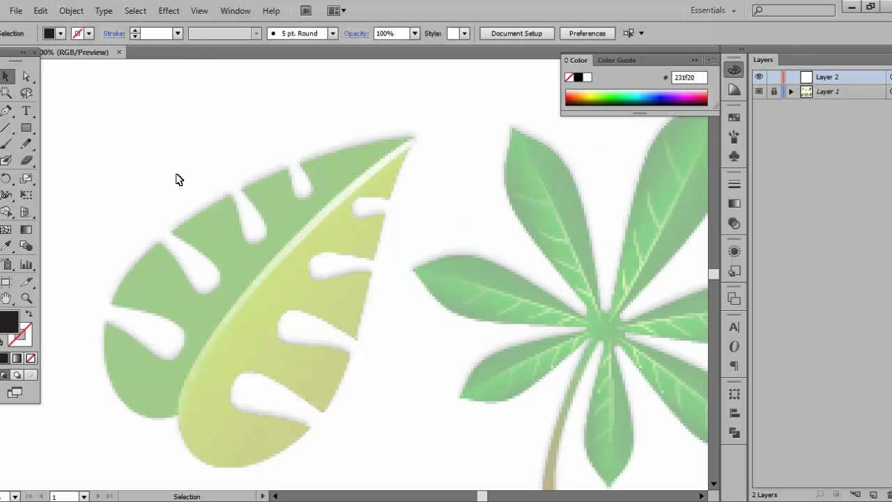 Adobe Illustrator - Pen Tool Basics - YouTube
