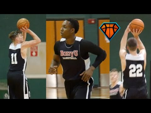 5'9 Arie Williams & Barry University Can Shoot The Lights Out!! | Highlights vs PBSC