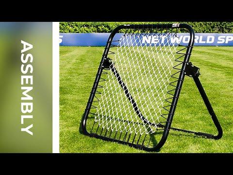 How To: Assemble The RapidFire Football Rebound Net | Net World Sports