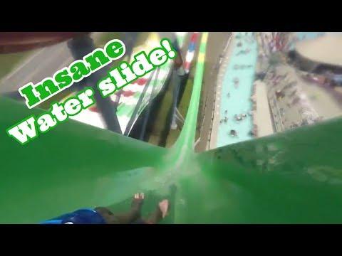 INSANE WATER SLIDE!! Adventureland