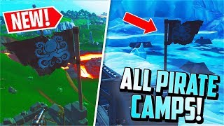 *NEW* Visit ALL 7 Pirate Camps! (Fortnite Week 1 Challenge) thumbnail