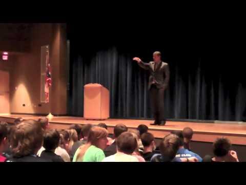 Tim Ryan at Ravenna High School