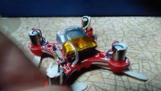 Квадрокоптер FQ777-124 - огляд та ремонт | pocket drone quadcopter FQ777-124 review and repair