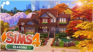 AUTUMNAL FAMILY HOME 🍁🏡 (SEASONS) | The Sims 4 | Speed Build