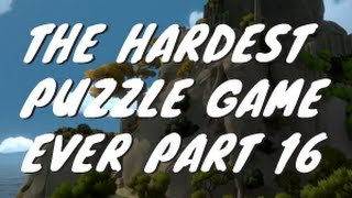 The hardest puzzle game the witness 16