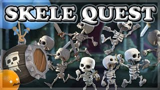 How to Finish SKELETON QUEST in 1 Hour | Clash Royale 🍊