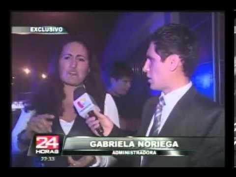 Falso ex fiscal arma escándalo en karaoke de San Borja   Panamericana TV