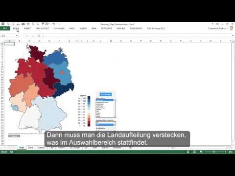 Excel karte deutschland excel kartogramm f r for Innendekoration tagerwilen