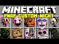 Minecraft Amazing Five Nights At Freddy S Mod Spawn ALL FNAF Animatronics Modded Minigame mp3