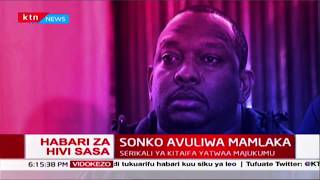 BREAKING: Governor Mike Sonko hands over functions of Nairobi County Govt to the National Govt