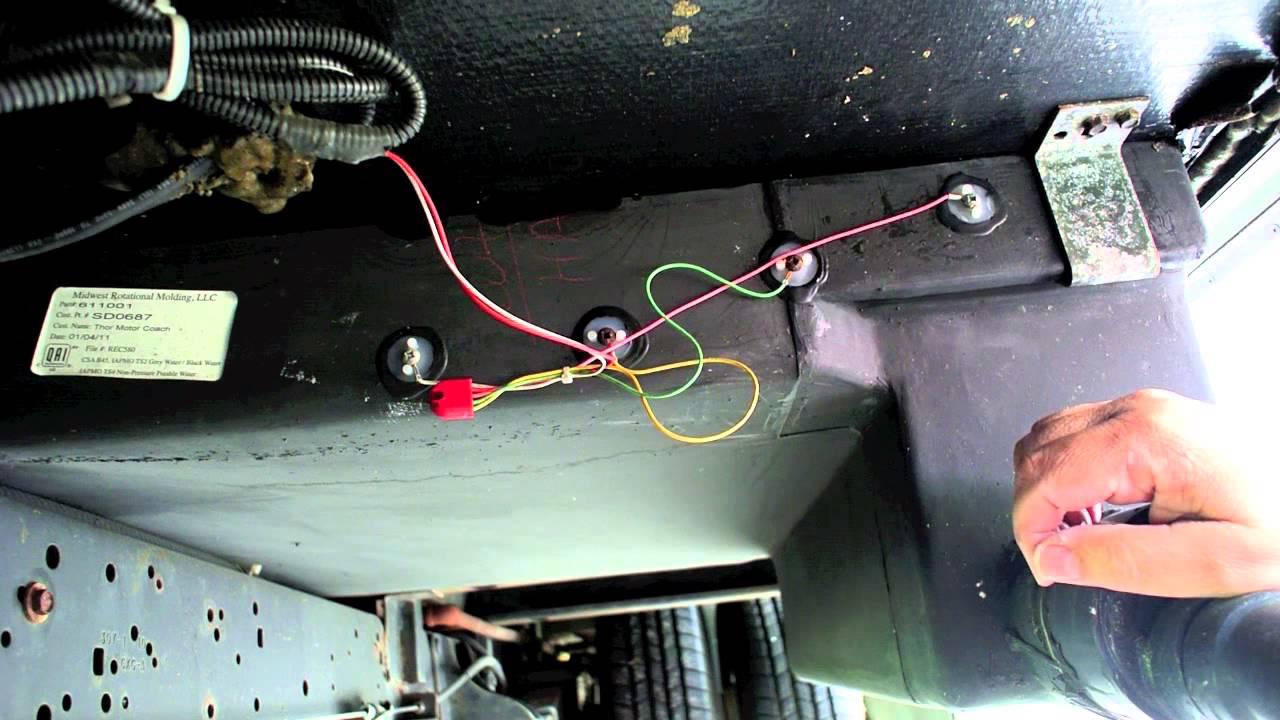 rv fresh water tank sensor wiring diagram 3 phasen des motorischen lernens installing horst miracle probes on my