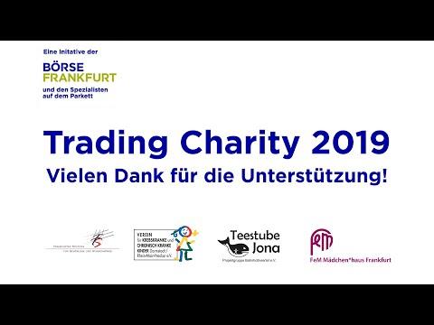 Handeln und Helfen: Trading Charity an der Börse Frankfurt bringt 70.000 Euro ein