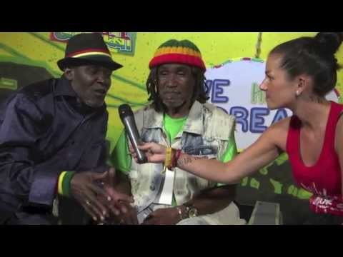 Interview with Wailing Souls @ Rototom Sunsplash | LIVE STREAM August 21st 2014