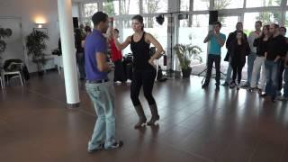 Bachata dominicaine débutant avec Yami et Déborah