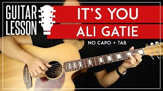 It's You Guitar Tutorial - Ali Gatie Guitar Lesson ????|No Capo + Easy Chords + TAB|