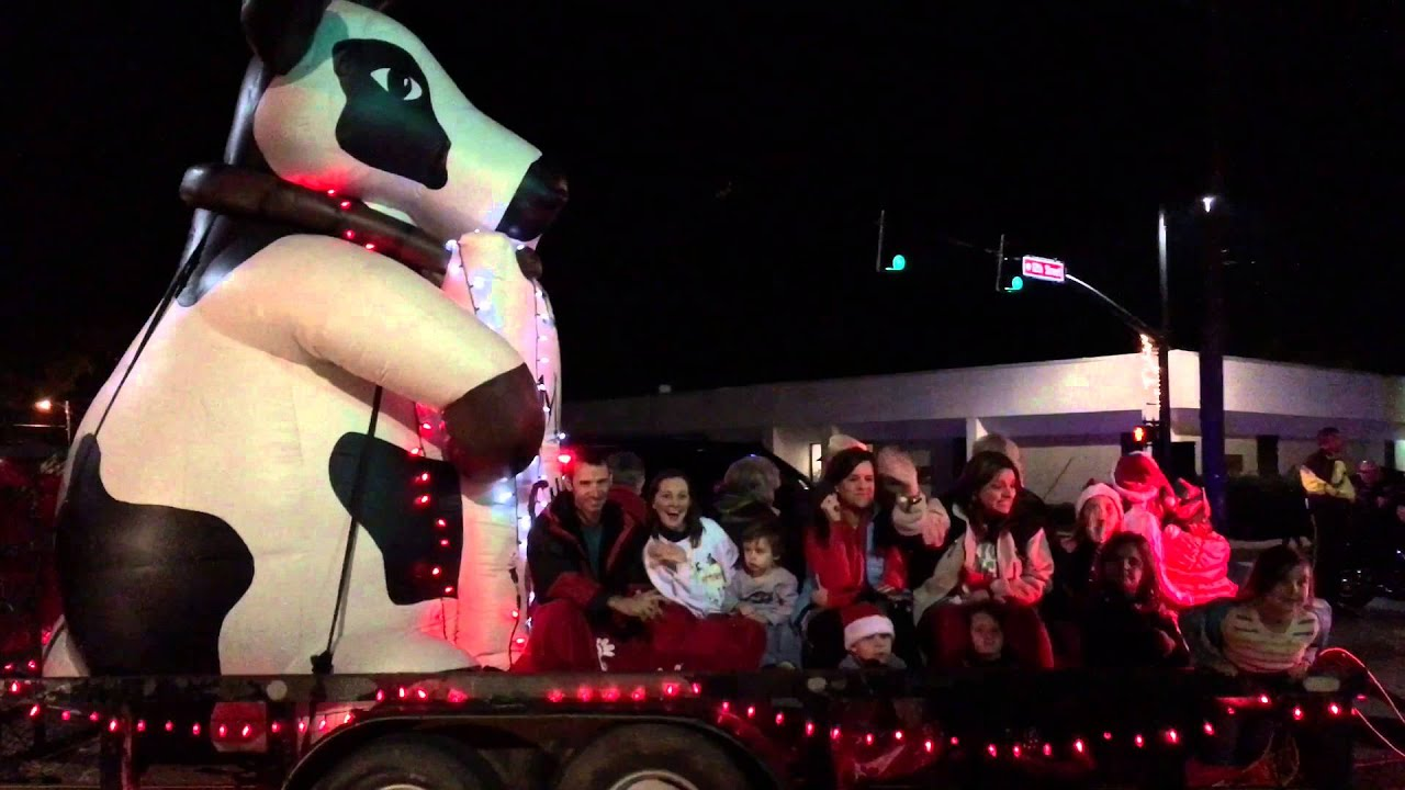 Tuscaloosa 2015 Christmas Parade - YouTube