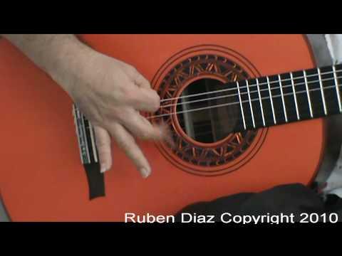 "Basic Flamenco Right Hand Techniques ""Rasgueos""  Ruben Diaz CFG studio Malaga / www.cfgstudio.com"