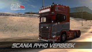 ETS2 V1 28 PDT Scania R440 Verbeek