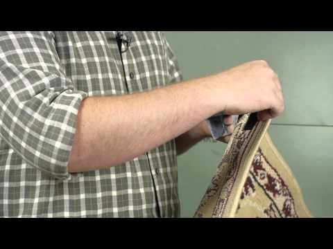 How to Hang a Rug With Velcro on Drywall : Wall Repair