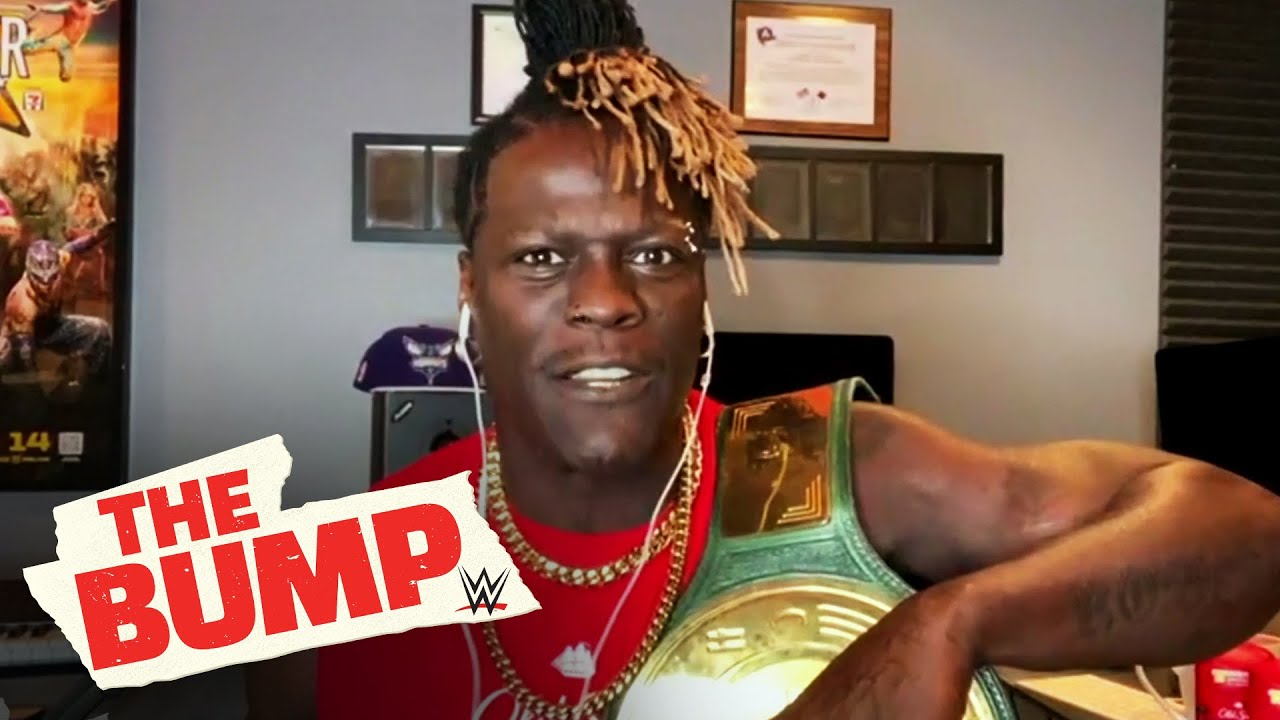 R-Truth has strong words for the Old Spice Night Panther: WWE's The Bump, April 14, 2021