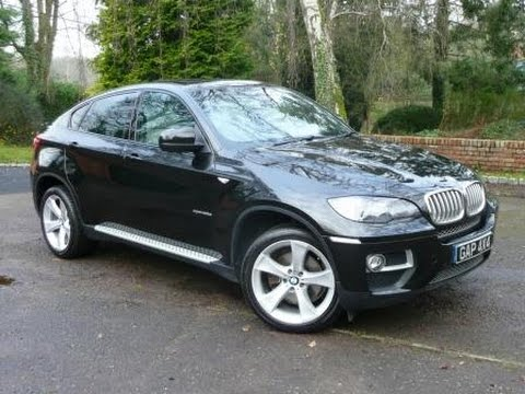 2013 BMW X6 X Drive 4 0d In Sapphire Black With Ivory Nappa Leather